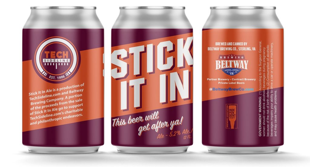 stick it in beer cans